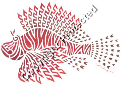Tribal Lionfish