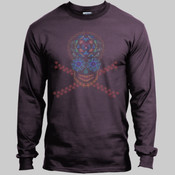 Marine Skull 100% Cotton Long Sleeve Shirt