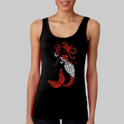 Tribal Scuba Flag Mermaid Tank Top